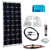 Solar Komplettset Wohnmobile/Caravan/Boote