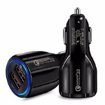 Fast Car Charger 6A QC 3.0