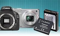 Akkus für Digitalkameras und Camcorder