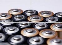 Solarladegerät für AA/AAA Akkubatterien