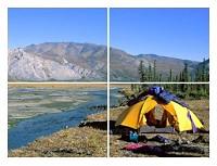 Solarladegerät für Camping