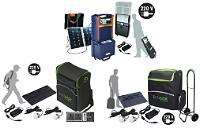 Solargeneratoren nach Anwendung